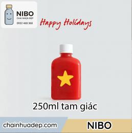 Chai-nhua-250ml-tam-giac