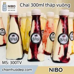 Chai-nhua-300ml-thap-vuong